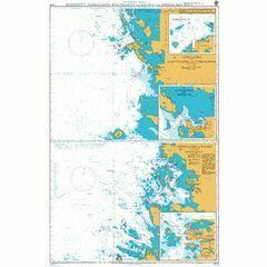 3415 Approaches to Mantyluoto and Tahkoluoto Admiralty Chart