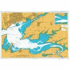 3429 Rade de Brest: Riviere du Faou Admiralty Chart