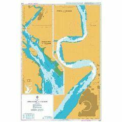 3434 Approaches to Calabar Sheet 2 Admiralty Chart