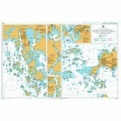 3437 Hanko- Maarianhamina- Parainen- Paraisten Portti and Uusikaupunki Admiralty Chart