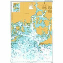 3443 Approaches to Hanko Admiralty Chart