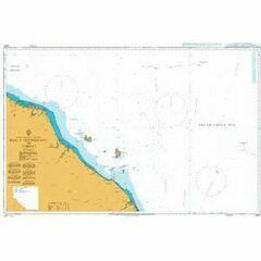 3447 Kuala Trengganu to Tumpat Admiralty Chart