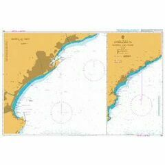 350 Approaches to Savano and Vado Admiralty Chart