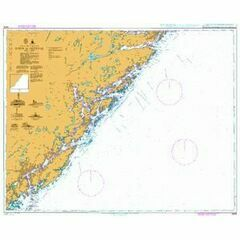 3510 Norway - South Coast, Drammen Havn Admiralty Chart
