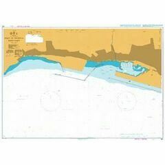 354 Port of Genova - West Part Admiralty Chart