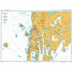 3546 Karmsundet to Ryvarden and Skjoldofjorden Admiralty Chart