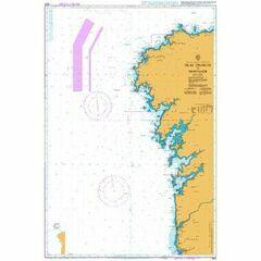 3633 Islas Sisargas to Montedor Admiralty Chart