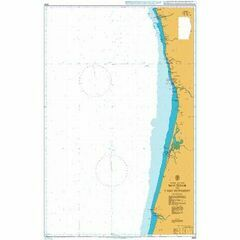 3634 Montedor to Cabo Mondego Admiralty Chart