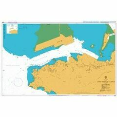 3660 Aden Inner Harbour Admiralty Chart