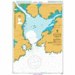 3725 Baltimore Harbour Admiralty Chart