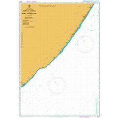 3794 Port S Johns to Port Shepstone Admiralty Chart
