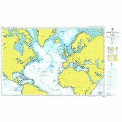 4004 North Atlantic Ocean Admiralty Chart
