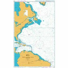 4013 North Atlantic Ocean - Western Part Admiralty Chart