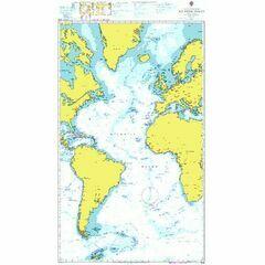 4015 Atlantic Ocean - Admiralty Chart