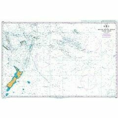 4061 South Pacific Ocean - Western Part Admiralty Chart
