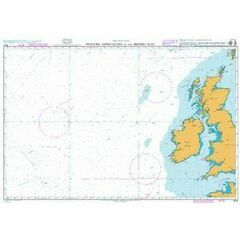 4102 Western Approaches to the British Isles Admiralty Chart