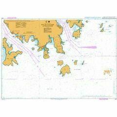 4127 Hong Kong, South Eastern Approaches Admiralty Chart