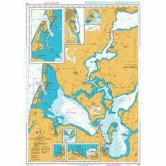426 Thyboron to Mors Admiralty Chart