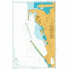 45 Gibraltar Harbour Admiralty Chart