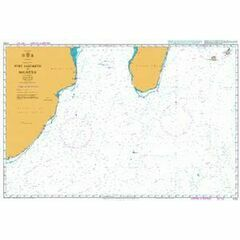 4700 Port Elizabeth to Mauritius Admiralty Chart