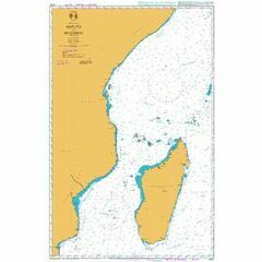 4701 Maputo to Muqdisho (Mogadiscio) Admiralty Chart