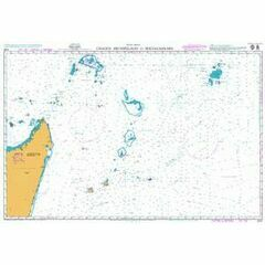4702 Chagos Archipelago to Madagasikara Admiralty Chart