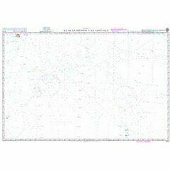 4713 Ile de la Reunion to Ile Saint-Paul Admiralty Chart