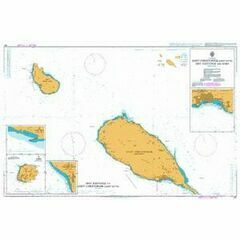 487 Saint Christopher (St. Kitts), Sint Eustatius Admiralty Chart