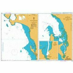 542 Madiq Kamaran to Al Hudaydah Admiralty Chart