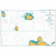 585 Nevis and Antigua to Northern Guadeloupe Admiralty Chart