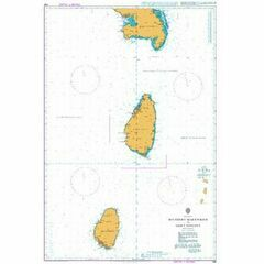 596 Southern Martinique to Saint Vincent Admiralty Chart
