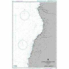 627 Luanda to Baia dos Tigres Admiralty Chart