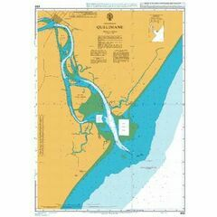 650 Porto de Quelimane Admiralty Chart