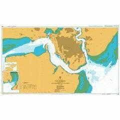 666 Port Mombasa including Port Kilindini and Port Reitz Admiralty Chart