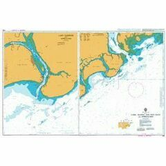 668 Lamu- Manda and Pate Bays and Approaches Admiralty Chart