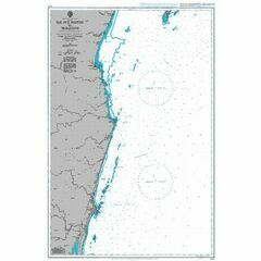 678 Ile aux Nattes to Tamatave Admiralty Chart