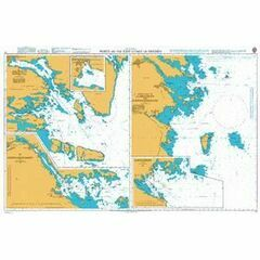 70 Ports on the East Coast of Sweden Admiralty Chart