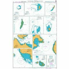 724 Anchorages in the Seychelles Group and Outlying Islands Admiralty Chart