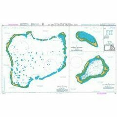 725 Plans in the Chagos Archipelago Admiralty Chart