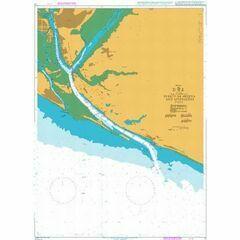 73 Puerto de Huelva and Approaches Admiralty Chart