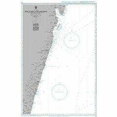 759 Baie d'Antongil to Farafangana Admiralty Chart