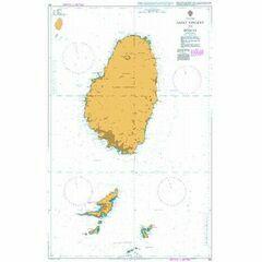 791 Saint Vincent to Bequia Admiralty Chart