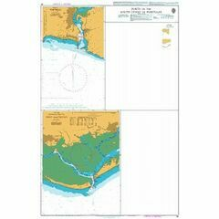 83 Ports on the South Coast of Portugal and Spain Admiralty Chart