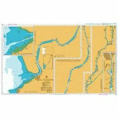 85 Rio Guadalquivir Admiralty Chart