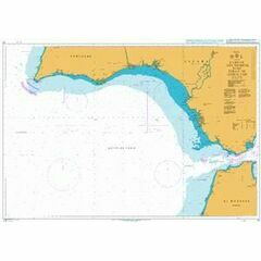 91 Cabo de Sao Vicente to the Strait of Gibraltar Admiralty Chart