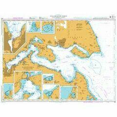 919 Flensburger Forde (Flensborg Fjord) Admiralty Chart