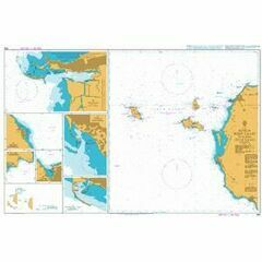 964 Sicilia West Coast including Isole Egadi Admiralty Chart