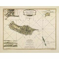 The Isle of Madeira ARC 5461 Admiralty Collection Archive Chart
