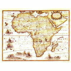 Africa ARC 5496 Admiralty Archive Collection Chart