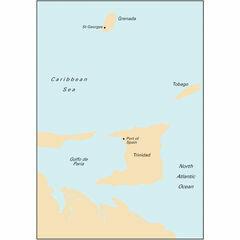 Imray Chart B6 Grenada to Tobago and Trinidad